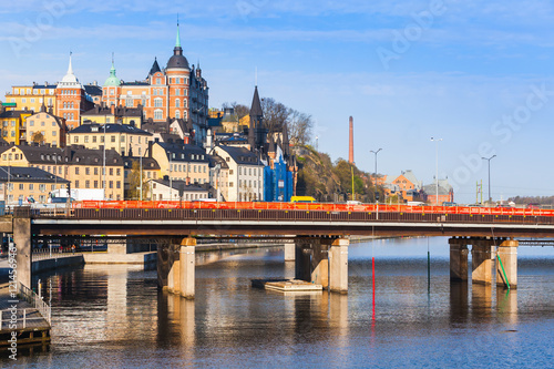 Cityscape of Sodermalm, Stockholm