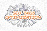 SEO Tags Optimization - Business Concept.