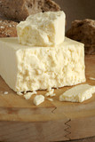 Cheshire a traditional dense and crumbly white British cheese