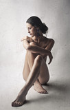 Naked classy girl