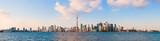 Panoramic view of Toronto skyline