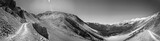 Ophir Pass BW Panoramic