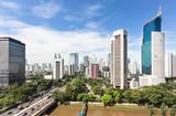 Fototapety Jakarta business district