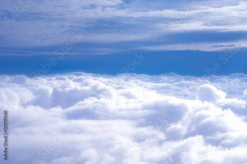 Foto Murales Clouds on a blue sky