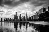 Chicago Skyline Reflections