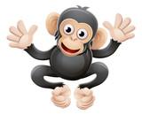 Chimpanzee Animal Cartoon Character