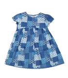 Satin baby dress.