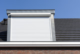 Dormer window with rolling safety  shutter - 121544567