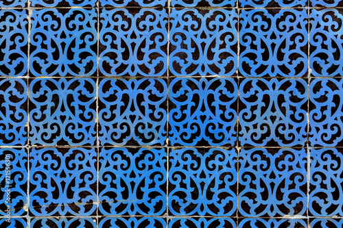 blue azulejos - tiles from Lisbon