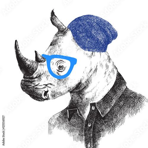 recznie-rysowane-nosorozca-w-stylu-hipster