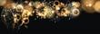 Hintergrund mit Feuerwerk und Sektgläser