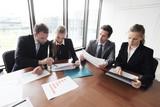 Business people meeting - 121564576