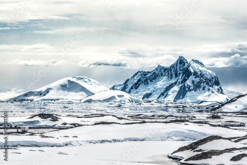 Fotobehang Antarctica Sureal Antarctica