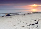 Coastal landscape near a village of fishermen, Baltic Sea, Latvia