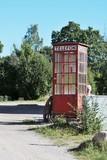 Cabina del telefono