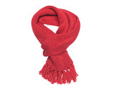 Fototapety Red scarf on a white background.