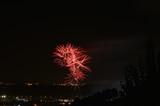 Espectaculo de fuegos artificiales
