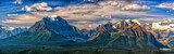 Fototapety Canada Rocky Mountains Panorama landscape view