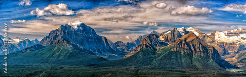 Foto op Canvas Canada Canada Rocky Mountains Panorama landscape view