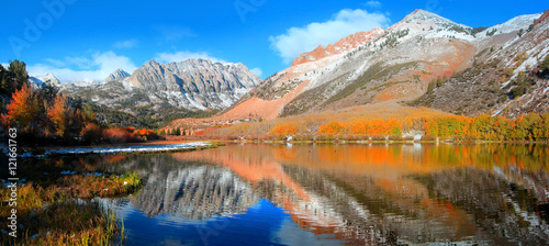 North lake landscape in California eastern Sierra mountains