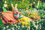 Baby in the Bunny suit