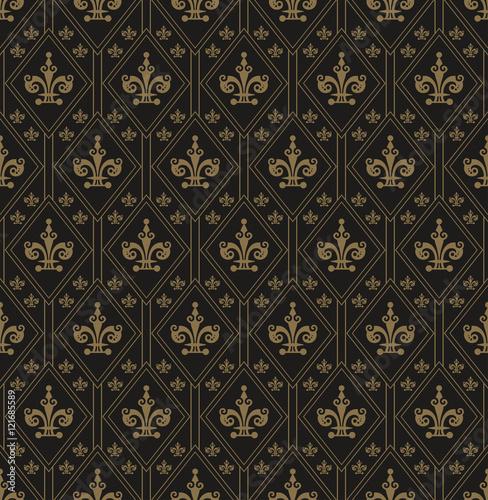 Naklejka Wallpaper Pattern Art Deco