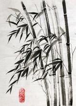 Bambus ist ein Symbol für ein langes Leben und Wohlstand