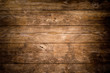 canvas print picture - Rustic wood planks background
