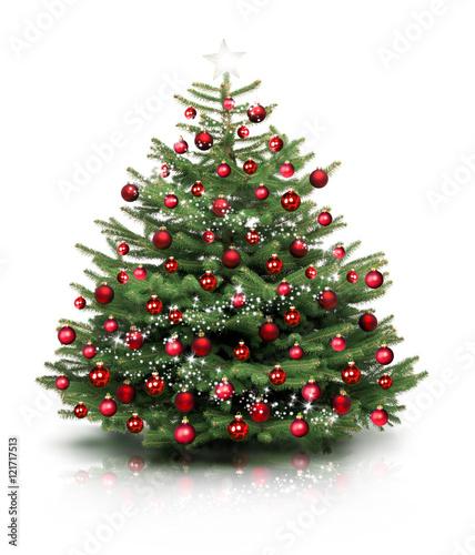gamesageddon weihnachtsbaum isoliert in rot geschm ckt. Black Bedroom Furniture Sets. Home Design Ideas