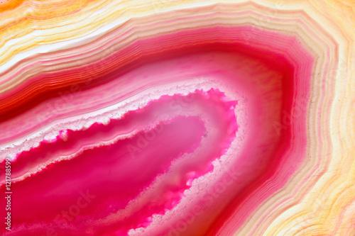 Abstrakcjonistyczny tło - różowa agata plasterka kopalina