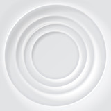 White rippled surface vector background - 121793755