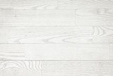 White wooden planks, tabletop, parquet floor surface.