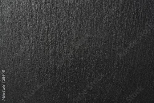 Textura de piedra de pizarra, negro