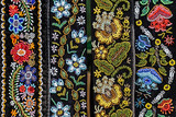 Belts for women embroidered traditional with Romanian patterns - 121849350