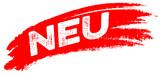 Neu! Angebot, Button, Wischer - 121858180