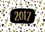 Fototapety 2017 Greeting Card Template