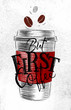 Poster first coffee