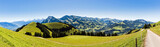 Panorama Berner Oberland, Niesen, Simmental, Schweiz