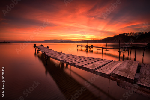 Plagát Fire in the sky / 