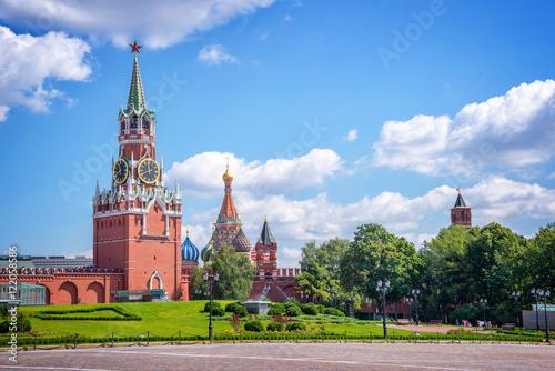 Aluminium Moskou Moscow Kremlin tower, Russia