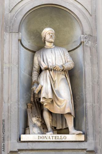 Poster Donatello statue, Florence