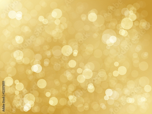 BRIGHT GOLD BOKEH LIGHTS Background