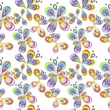 the butterfly background
