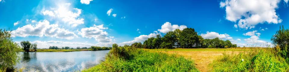 Fototapeta letni widok panorama