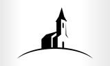 Fototapety Vector logo Illustration of a Church