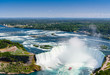 Niagara Falls Aerial View, Canadian Falls, Canada