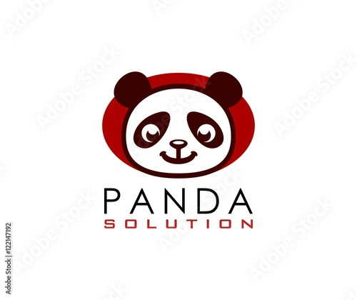 Fototapeta Panda logo
