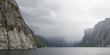 Western Brook Pond in Gros Morne National Park, Newfoundland and
