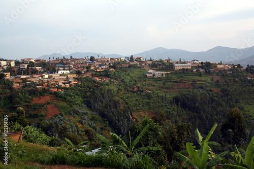 Poster village of Murambi, southern Rwanda, housing the Murambi Genocide Memorial Centr