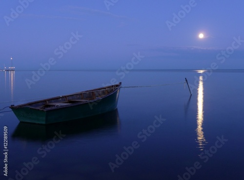 Boat by the Moonlight
